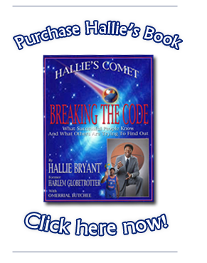 Purchase Hallie's Book - Click Here!